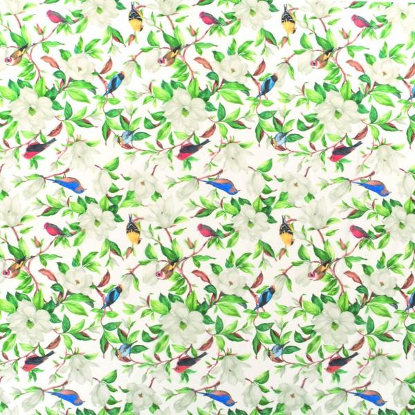 Tischbelag Fiesta Birds & Flowers Meterware 140 cm x 20 m