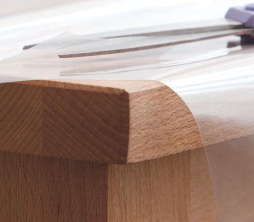 Tischbelag Cristalli M15 mit Papier Meterware 140 cm x 50 m